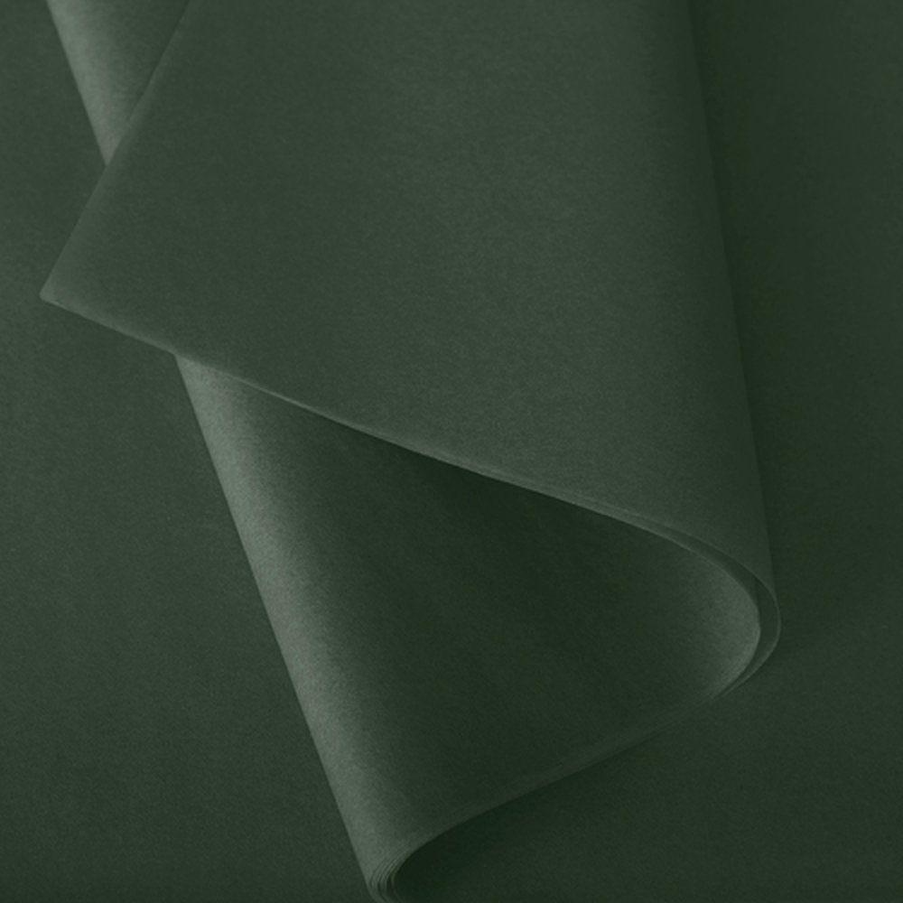Papier de soie 50x75cm vert foncé - 240 feuilles