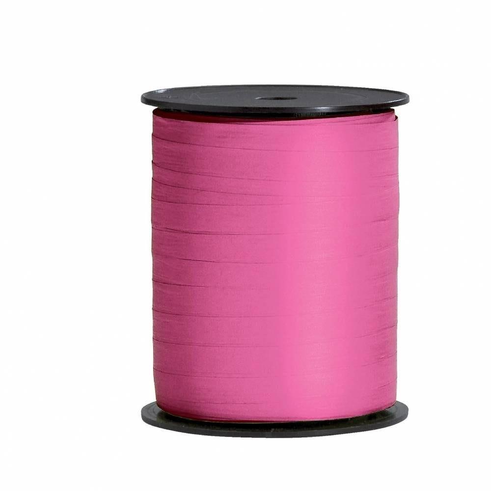 Bolduc papier synthétique rose 10mm x 250M