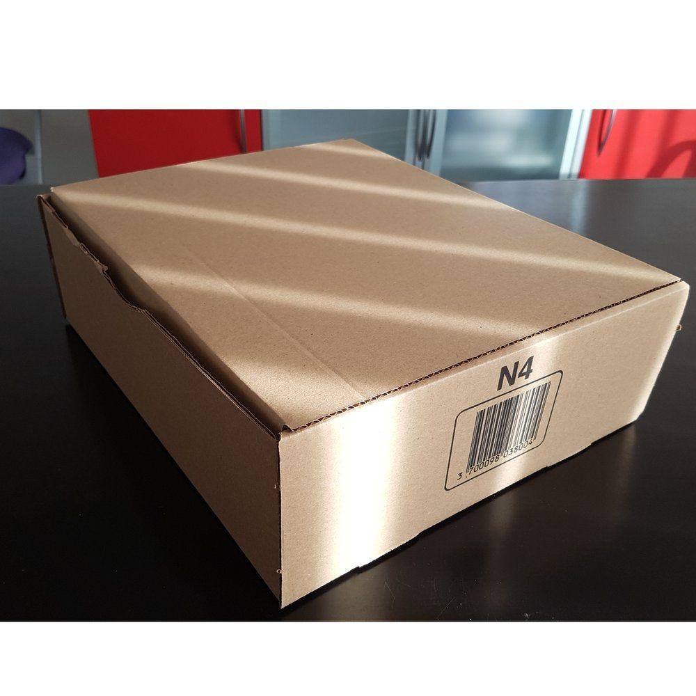 Boîte postale brune - 150 x 100 x 70 mm - par 20 (photo)