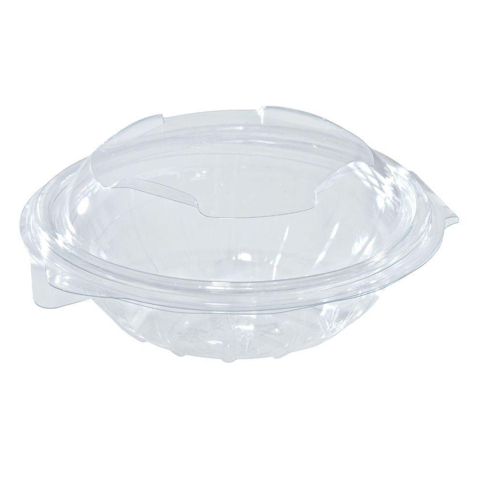 Bol salade couvercle transparent par 50 11.5x6 cm 375cc (photo)