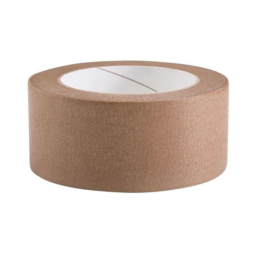 Adhésif papier kraft 50m x 50mm - par 2 (photo)