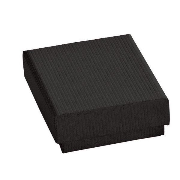 Boîte cadeau noire L6xP4.5xH2.8cm - par 12