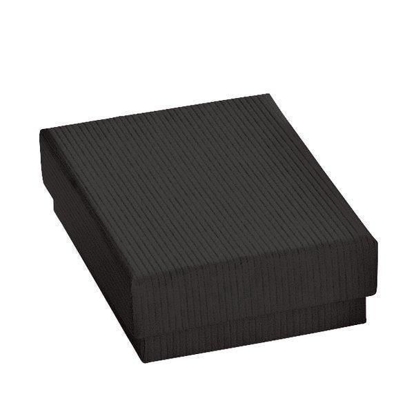 Boîte cadeau noire L7xP5xH3.2cm - par 12