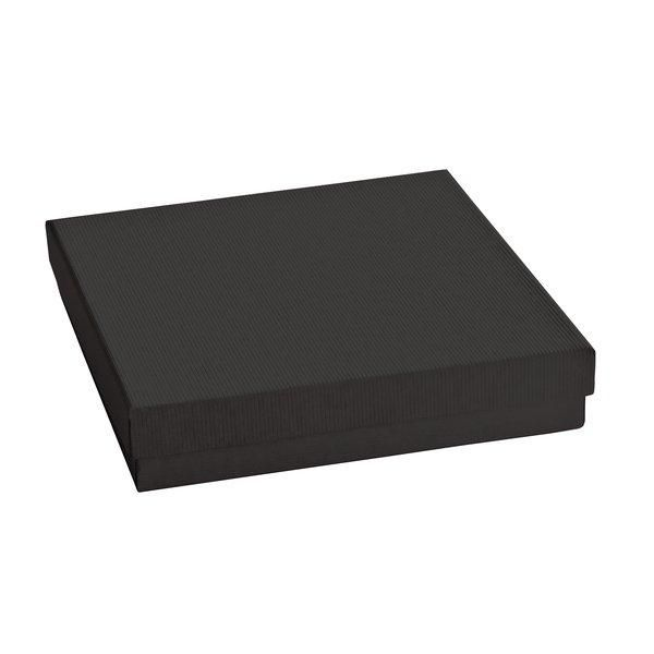 Boîte cadeau noire L15xP15xH4cm - par 12