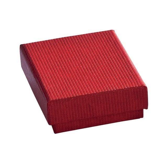 Boîte cadeau rouge L6xP4.5xH2.8cm - par 12