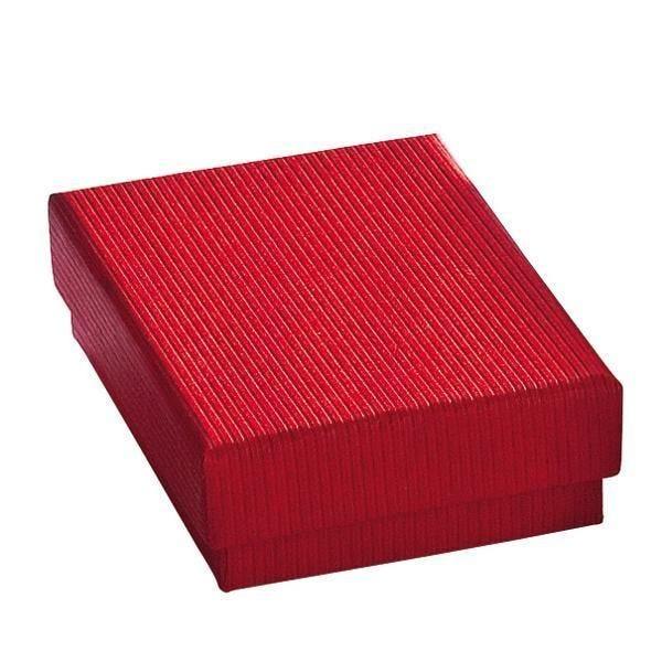 Boîte cadeau rouge L7xP5.1xH3.2cm - par 12