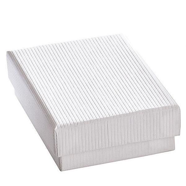 Boîte cadeau blanche L7xP5.1xH3.2cm - par 12