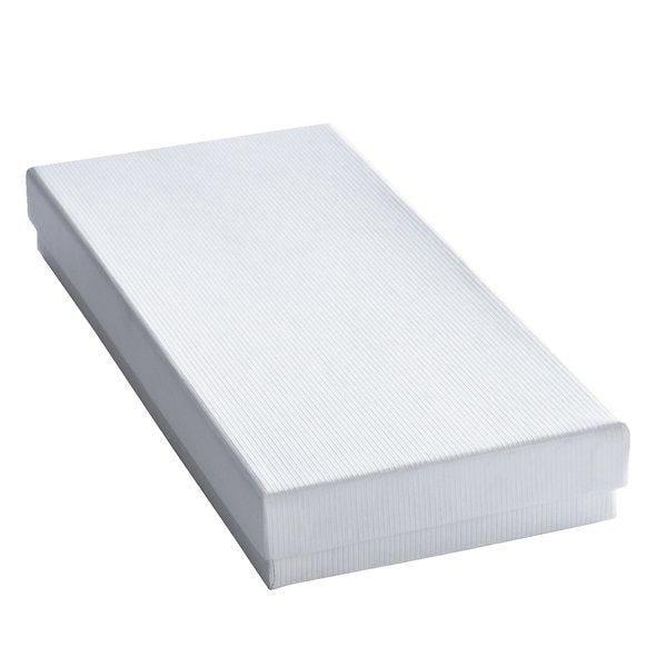 Boîte cadeau blanche L20.7xP9.3xH3.7cm - par 12