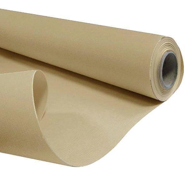 Papier kraft brun 50g L0.80 x 50m (photo)