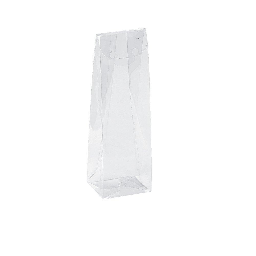 Pochette confiserie transparente 5x4x15,5cm - par 10