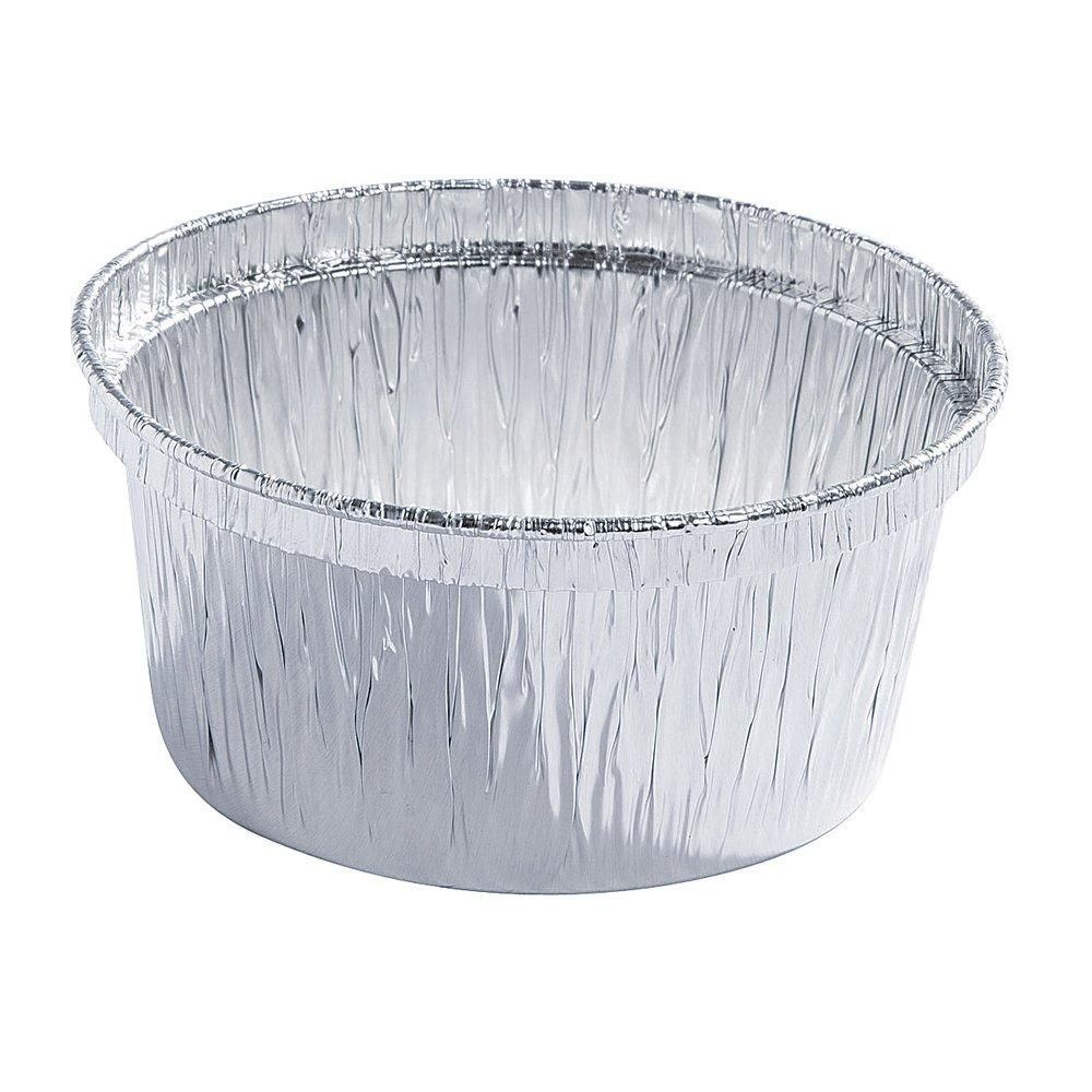 Godet aluminium 135CC Ø 8.5x4cm - paquet de 100 (photo)