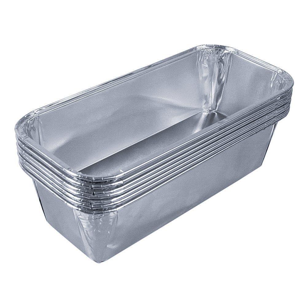 Moule à cake aluminium 600CC 20.4x8.4x5cm - paquet de 100 (photo)