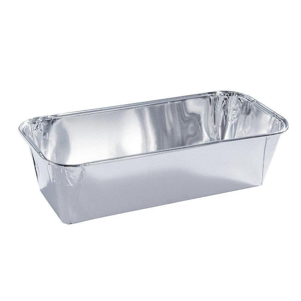 Moule à cake aluminium 1050ML 24.3x11.3x6cm - paquet de 100 (photo)