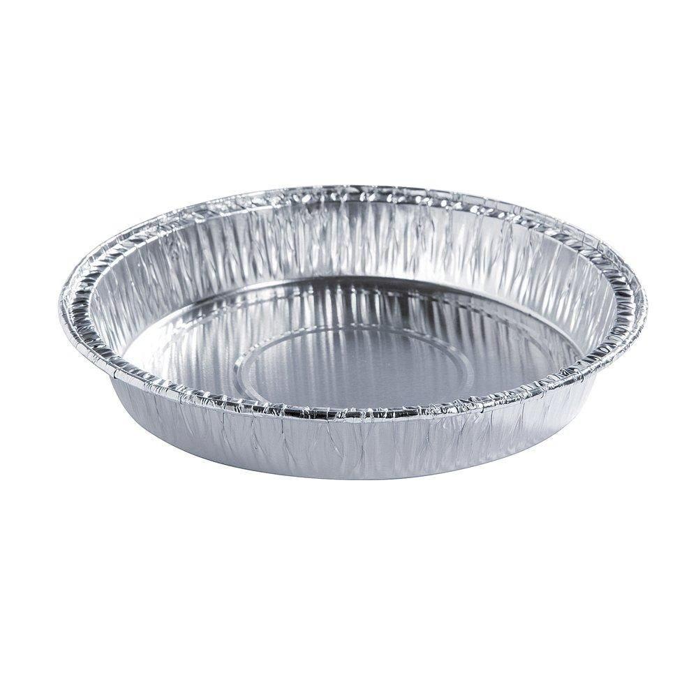 Tourtière aluminium 200gr. D.13.8x2cm - paquet de 100 (photo)