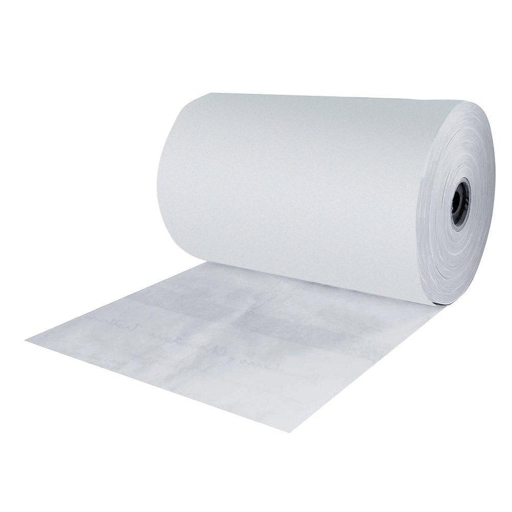 Papier thermoscellable blanc largeur 35cm bobine de 10 kg