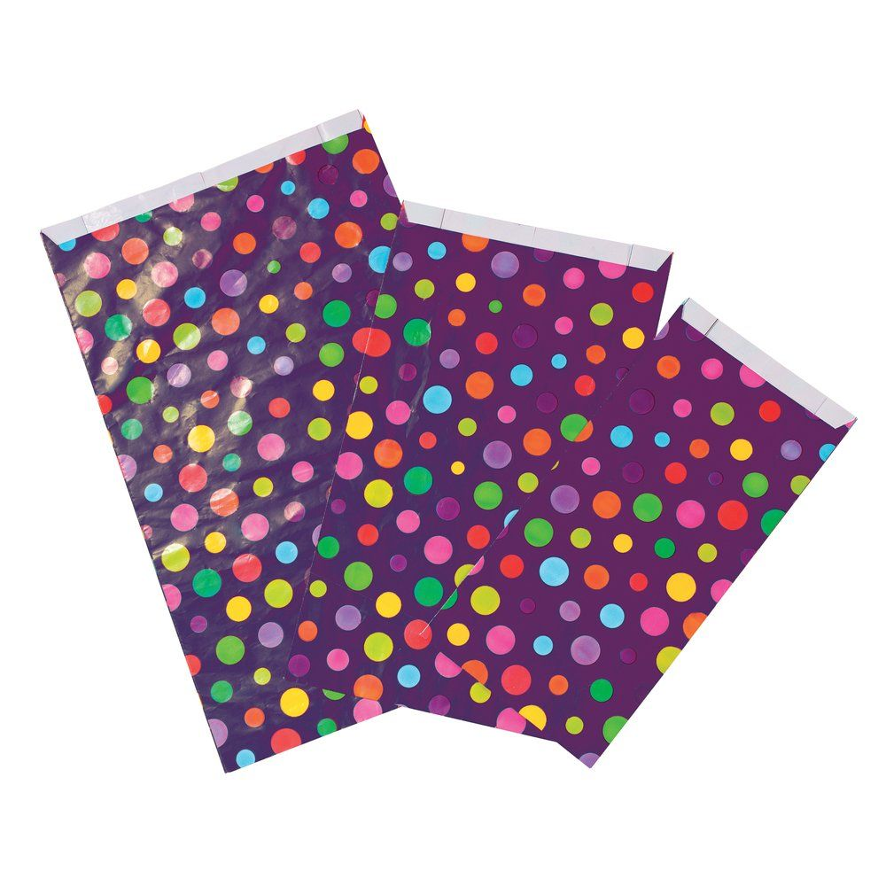 Sachets Pop'color 12x4,5x20cm - par 250