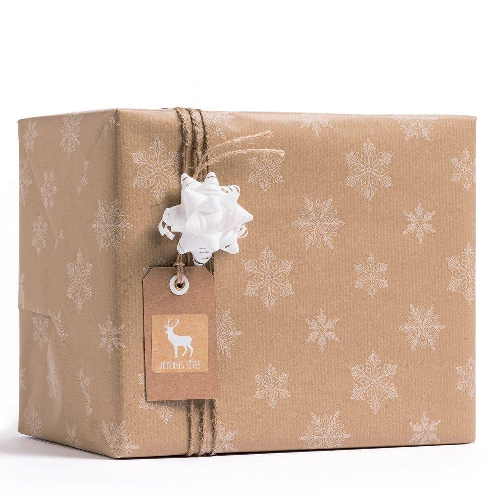 Papier cadeau kraft brun