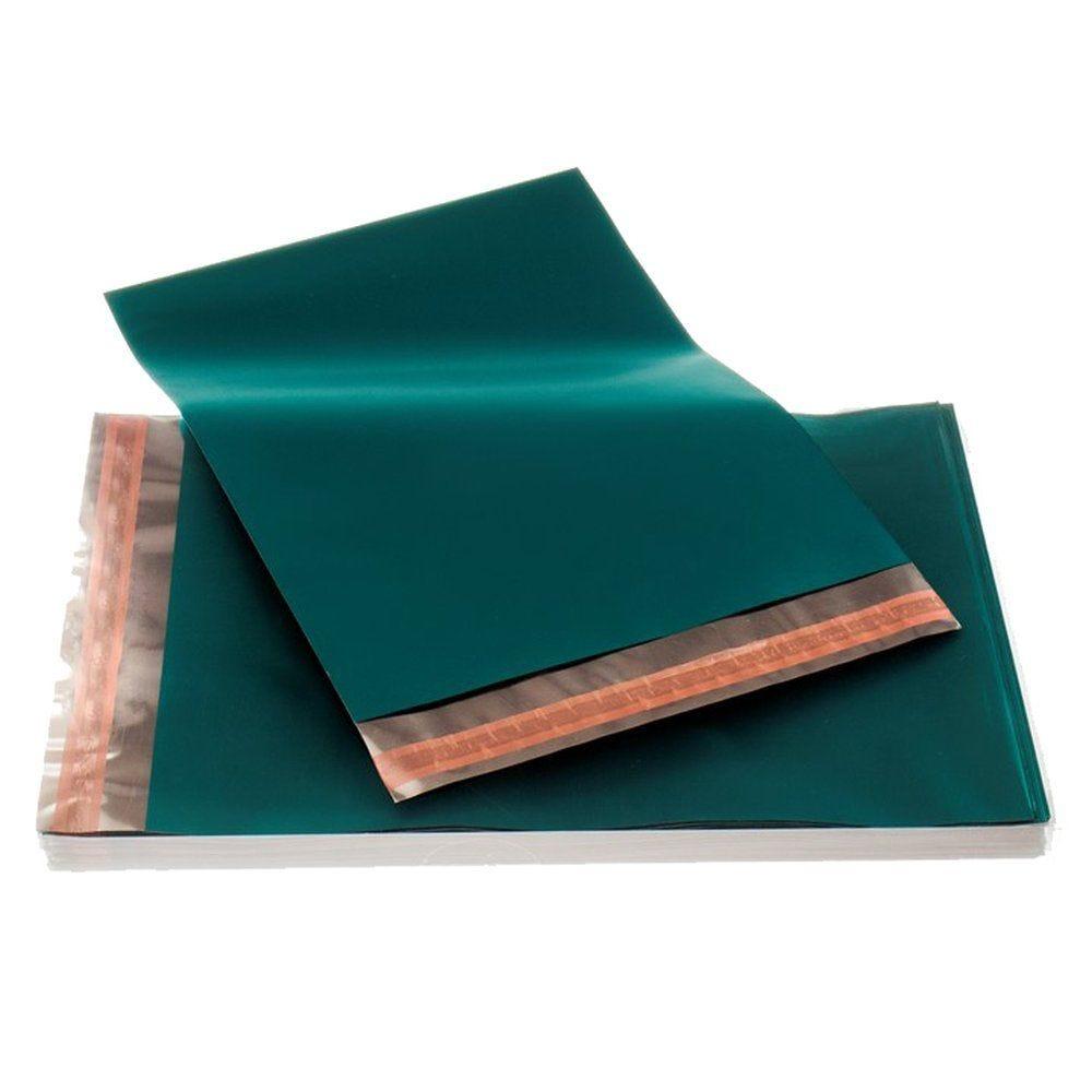 Sachet polypro bleu en 17.5x23.5 + 3cm - par 50