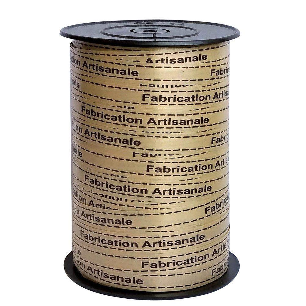 Bolduc fabrication artisanale marron 10mm x 225m