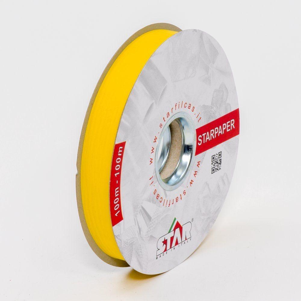 Bolduc Starpaperdune jaune 19mm x 100M