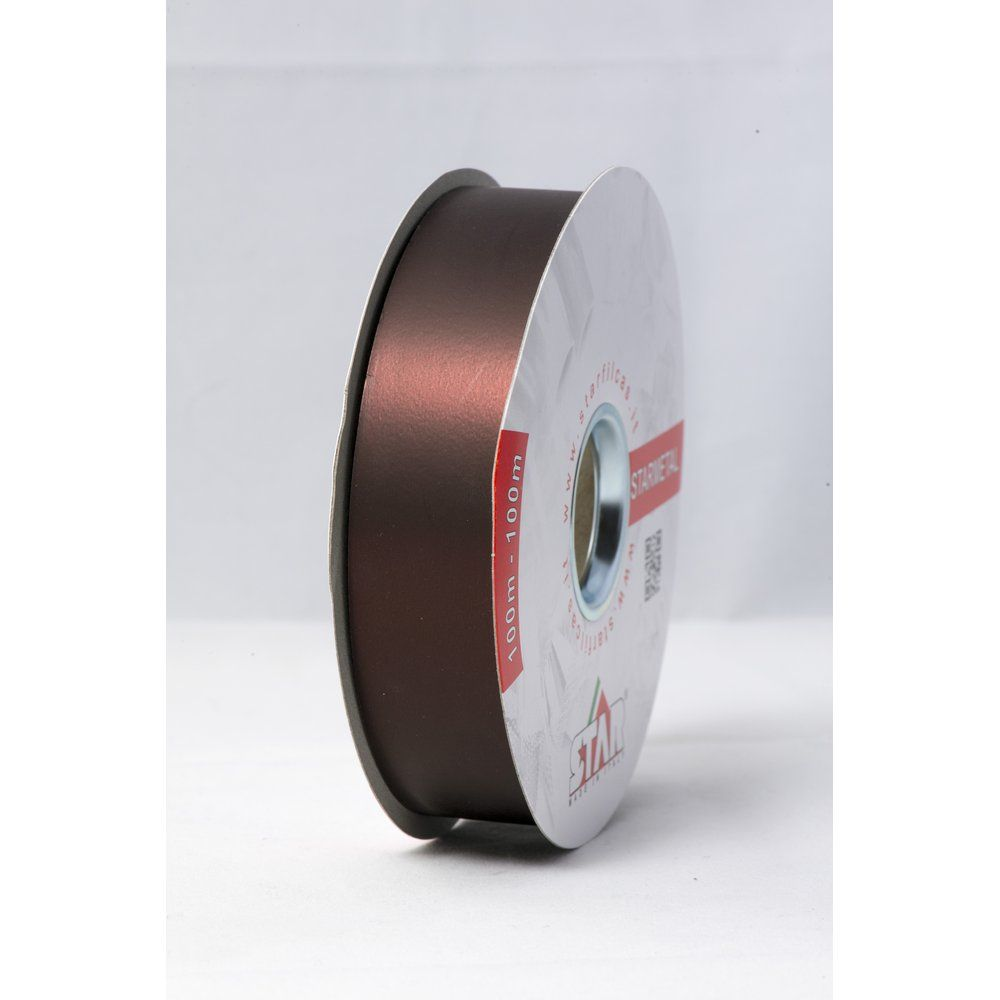 Bolduc Starmetal mat chocolat en 31mm x 100M