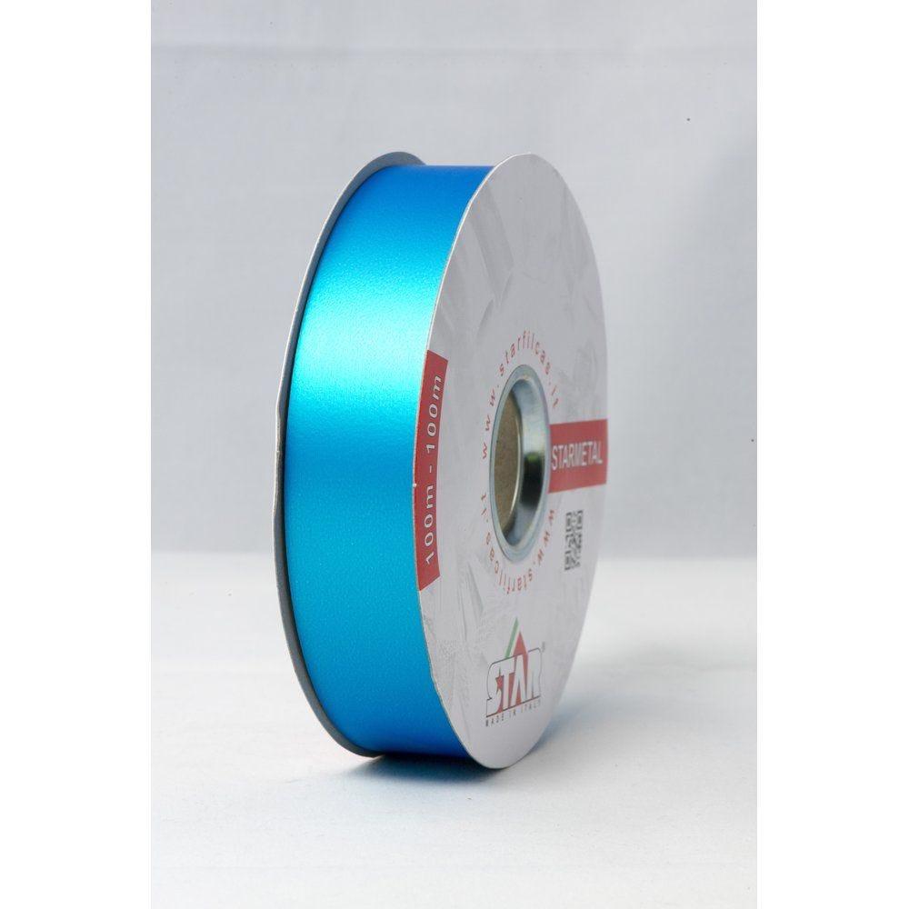 Bolduc Starmetal mat turquoise en 31mm x 100M