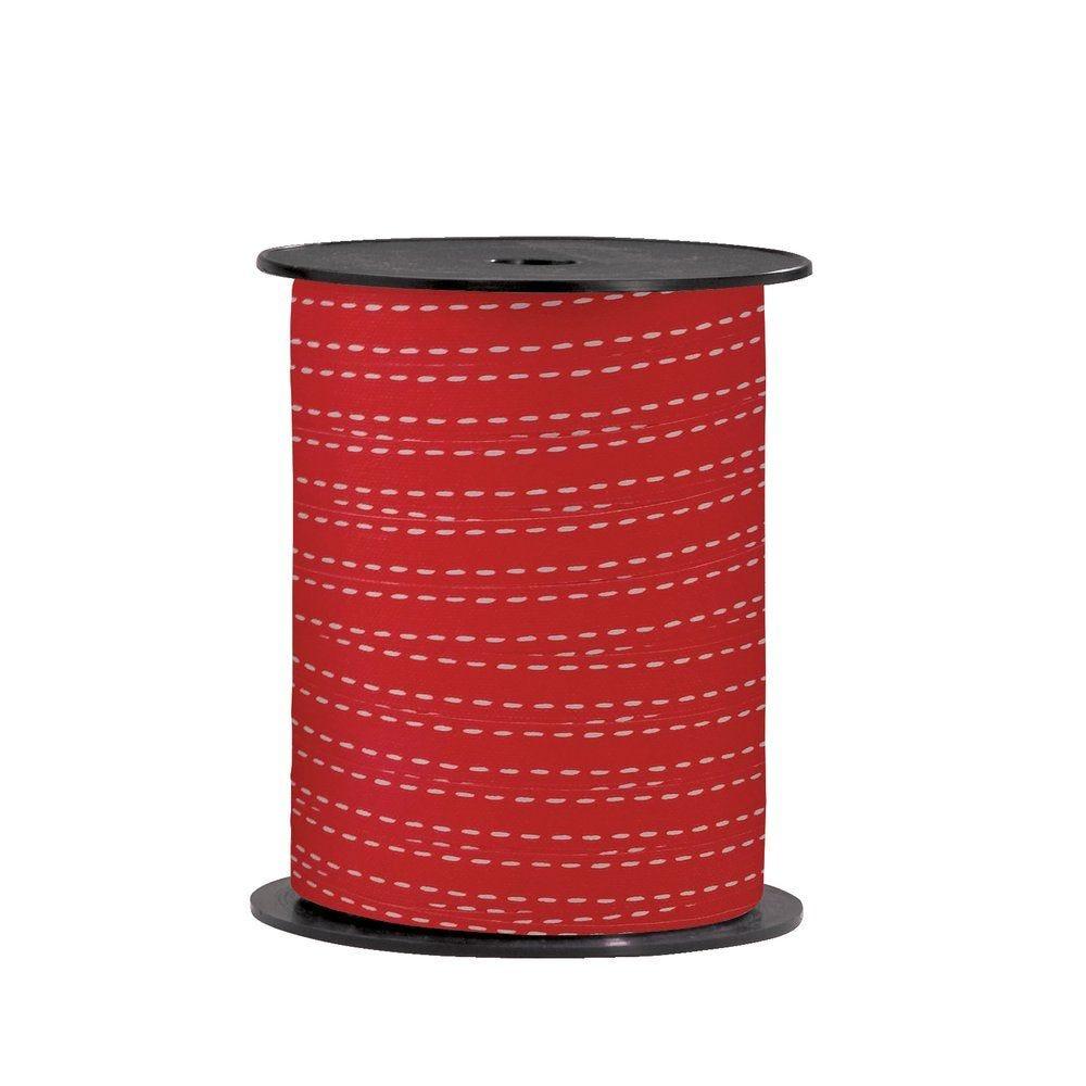 Bolduc 'Haussmann' rouge en 10mm x 225M (photo)