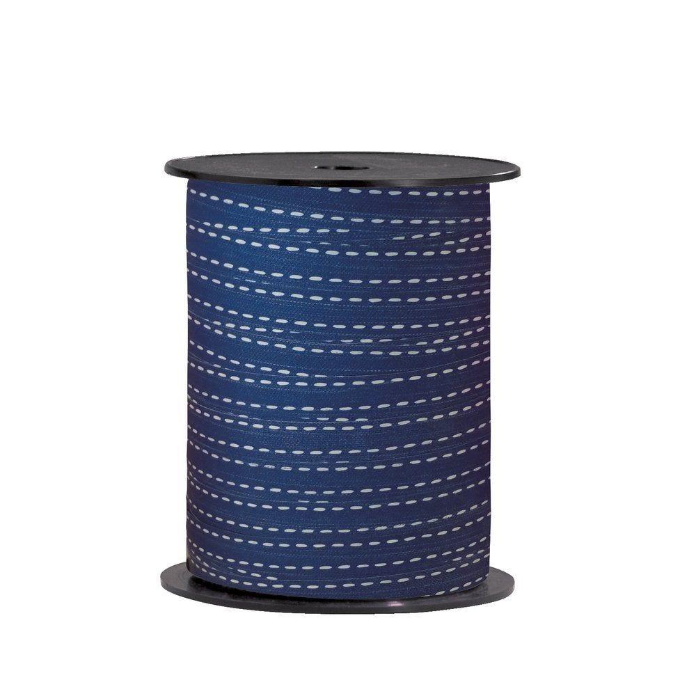 Bolduc 'Haussmann' bleu marine en 10mm x 225M (photo)