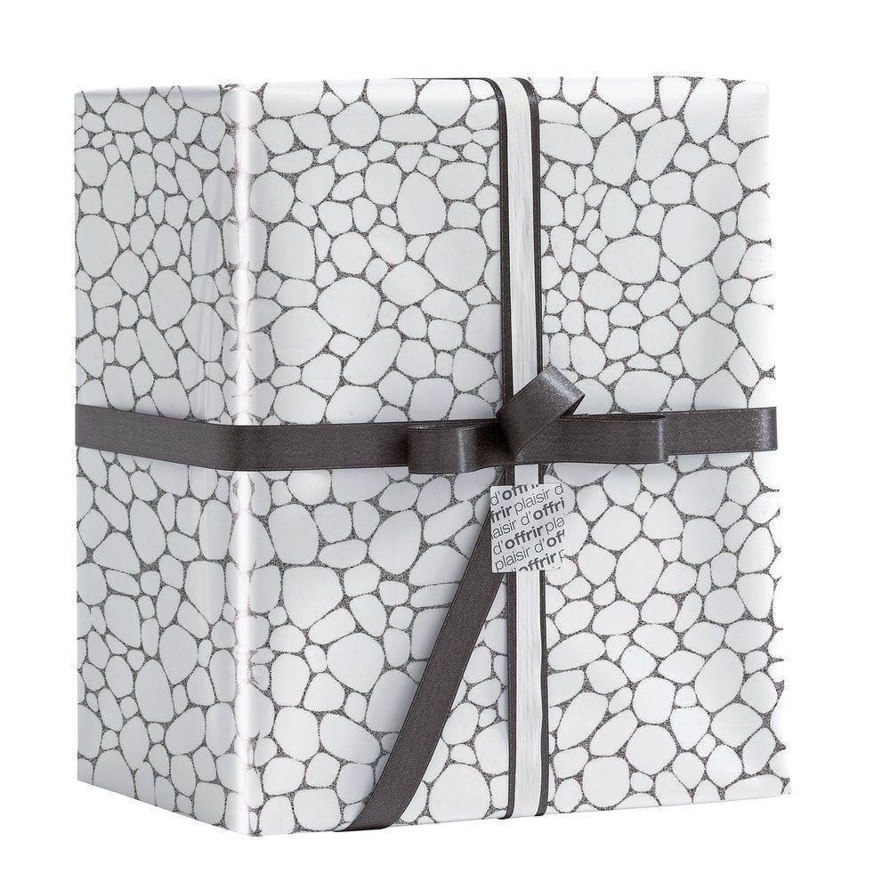 Papier cadeau cailloux holographique 0.70 x 25M (photo)