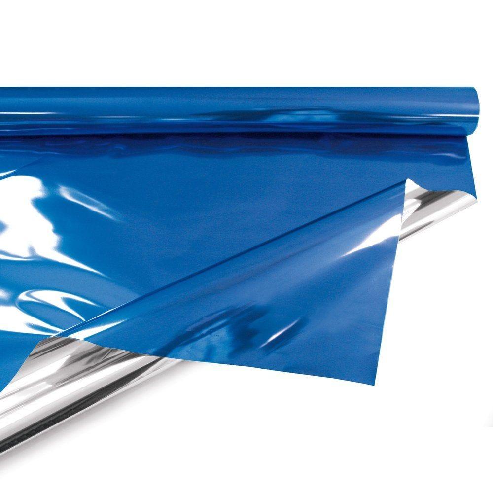 Film polypropylène métal bleu en 1,20 x 10 M (photo)