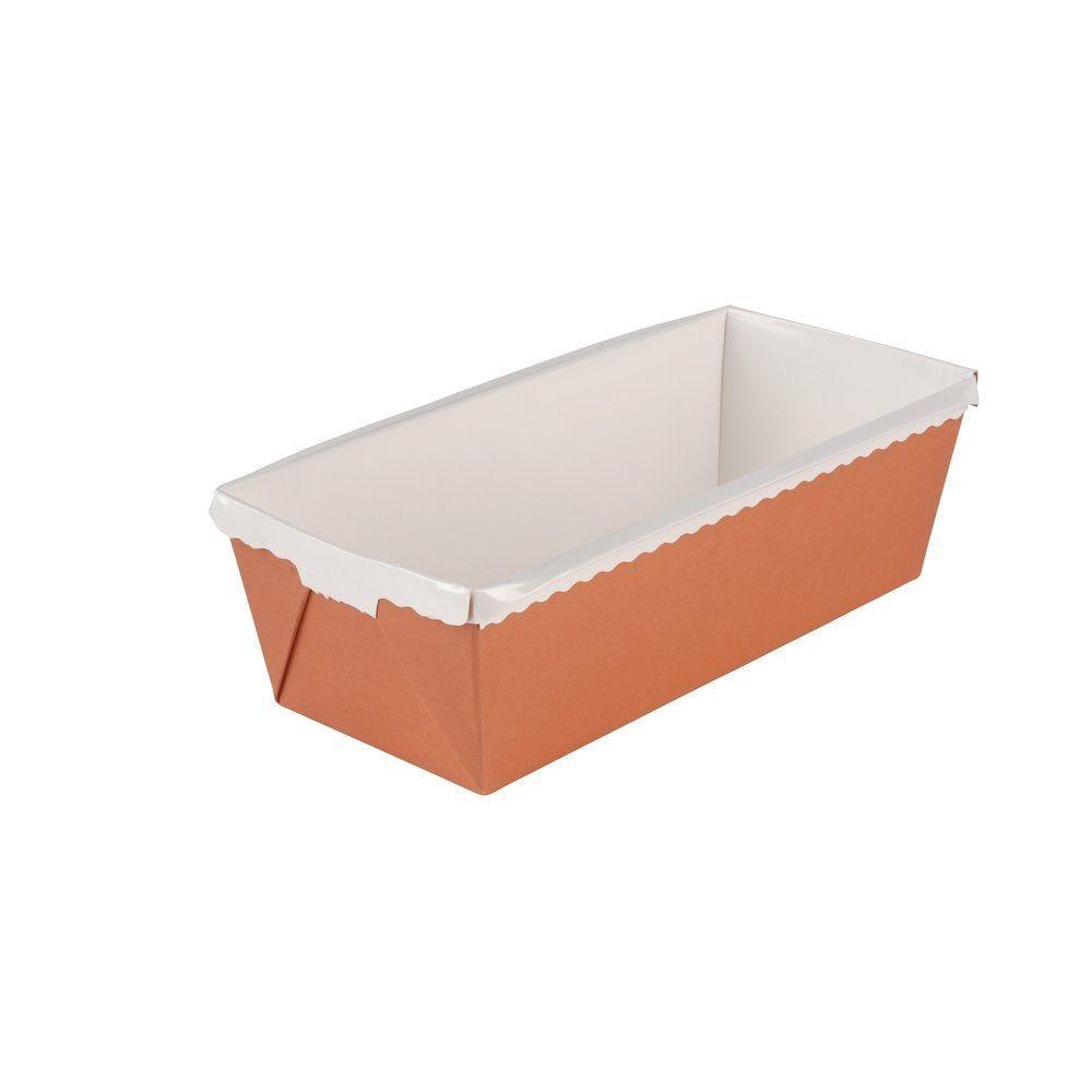 Moule cake Optima rectangulaire à bords renforcés 20x8.2xH 7cm -par 40 (photo)