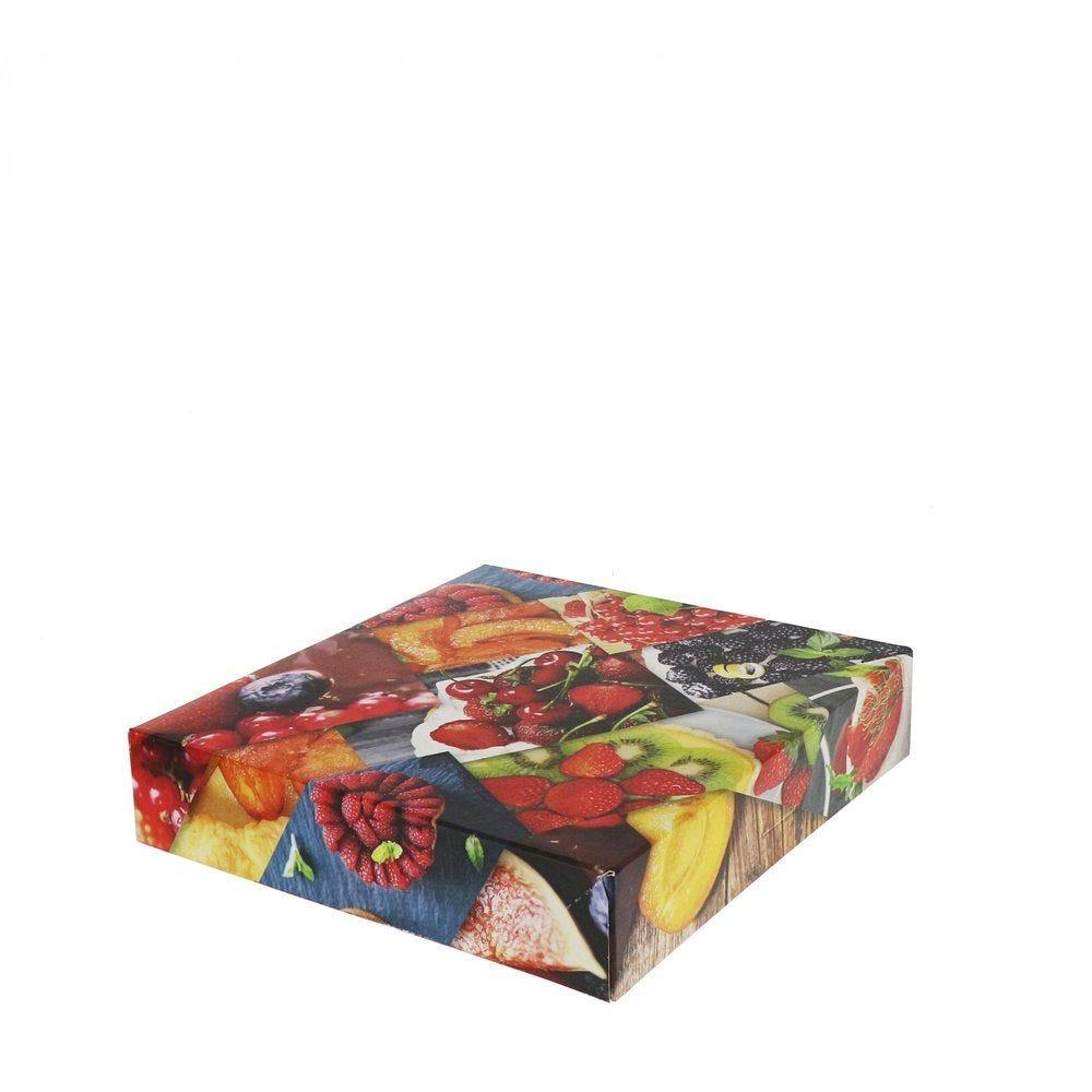 Boîte patissière Polaroid multicolore 20x5cm - par 50