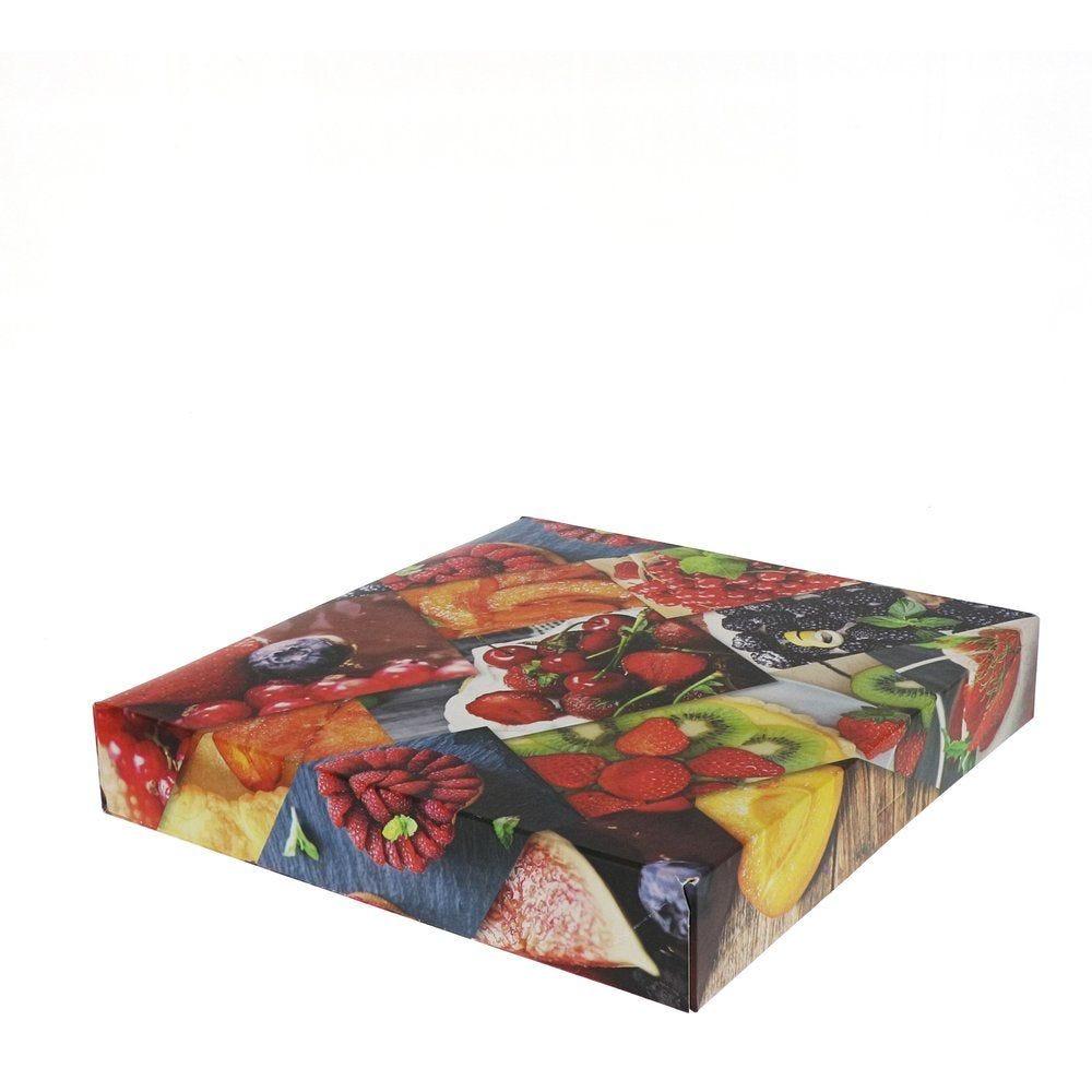 Boîte patissière Polaroid multicolore 29x5cm - par 50