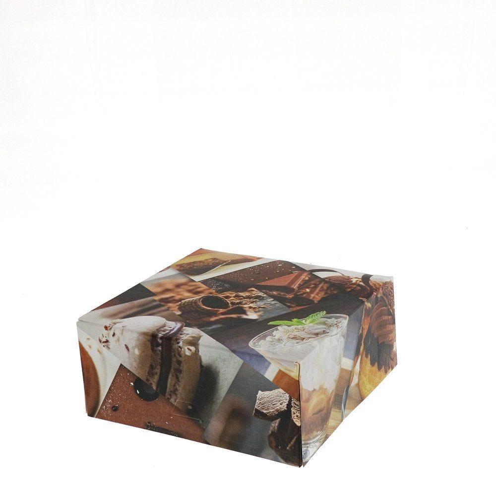 Boîte patissière Polaroid multicolore 18x8cm - par 50