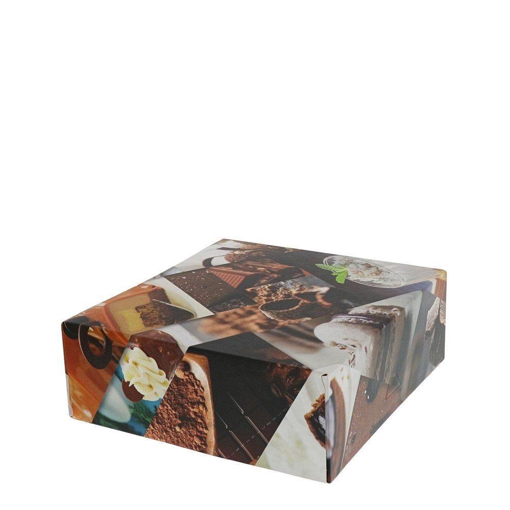 Boîte patissière Polaroid multicolore 20x8cm - par 50
