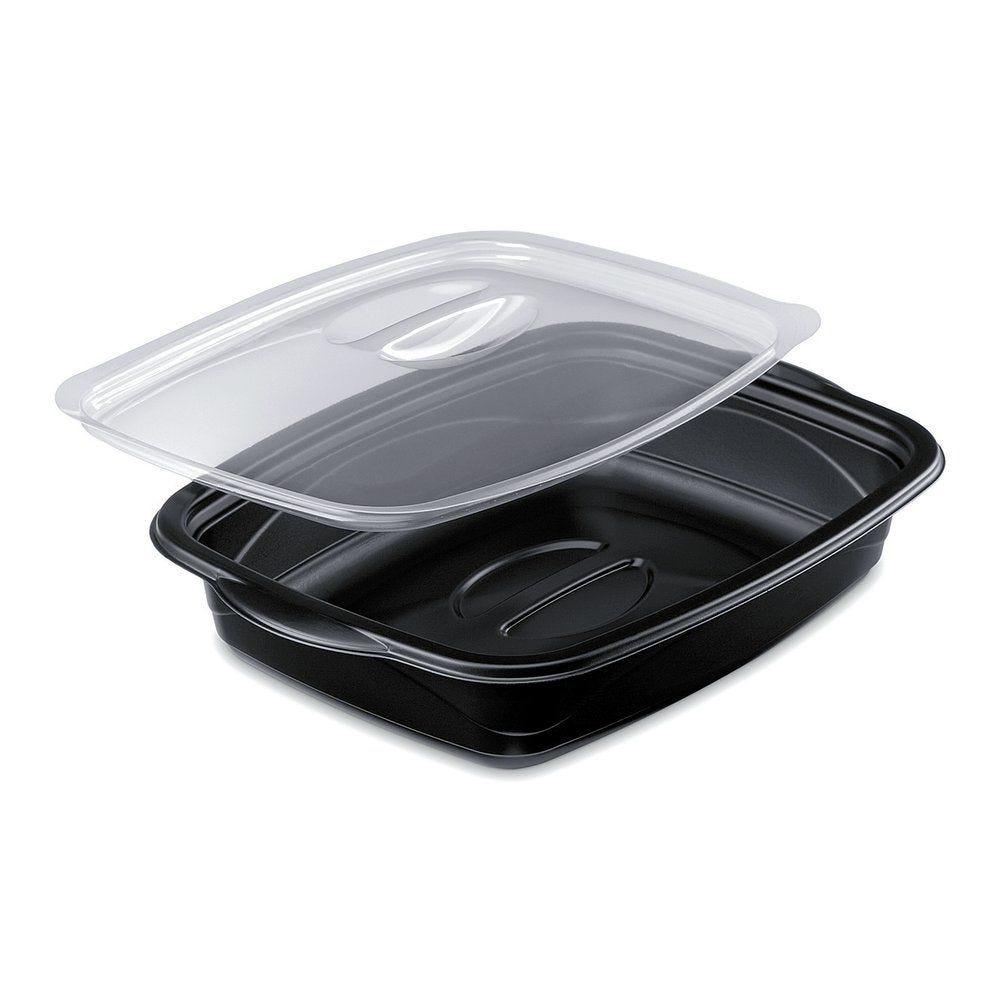 Boîte alimentaire Marmipack 1000cc avec couvercle par 25 (photo)