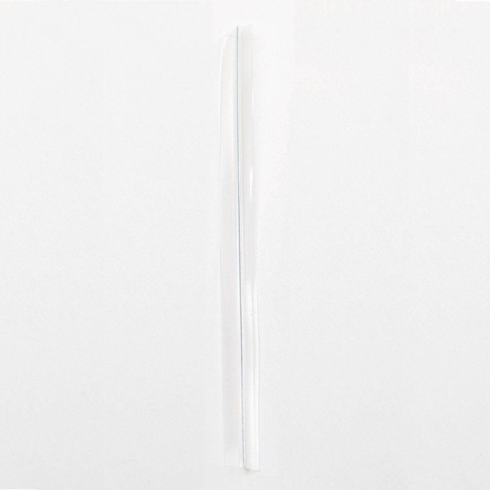 Lien  transparent cellophane armé 6x90 mm par 2000 (photo)