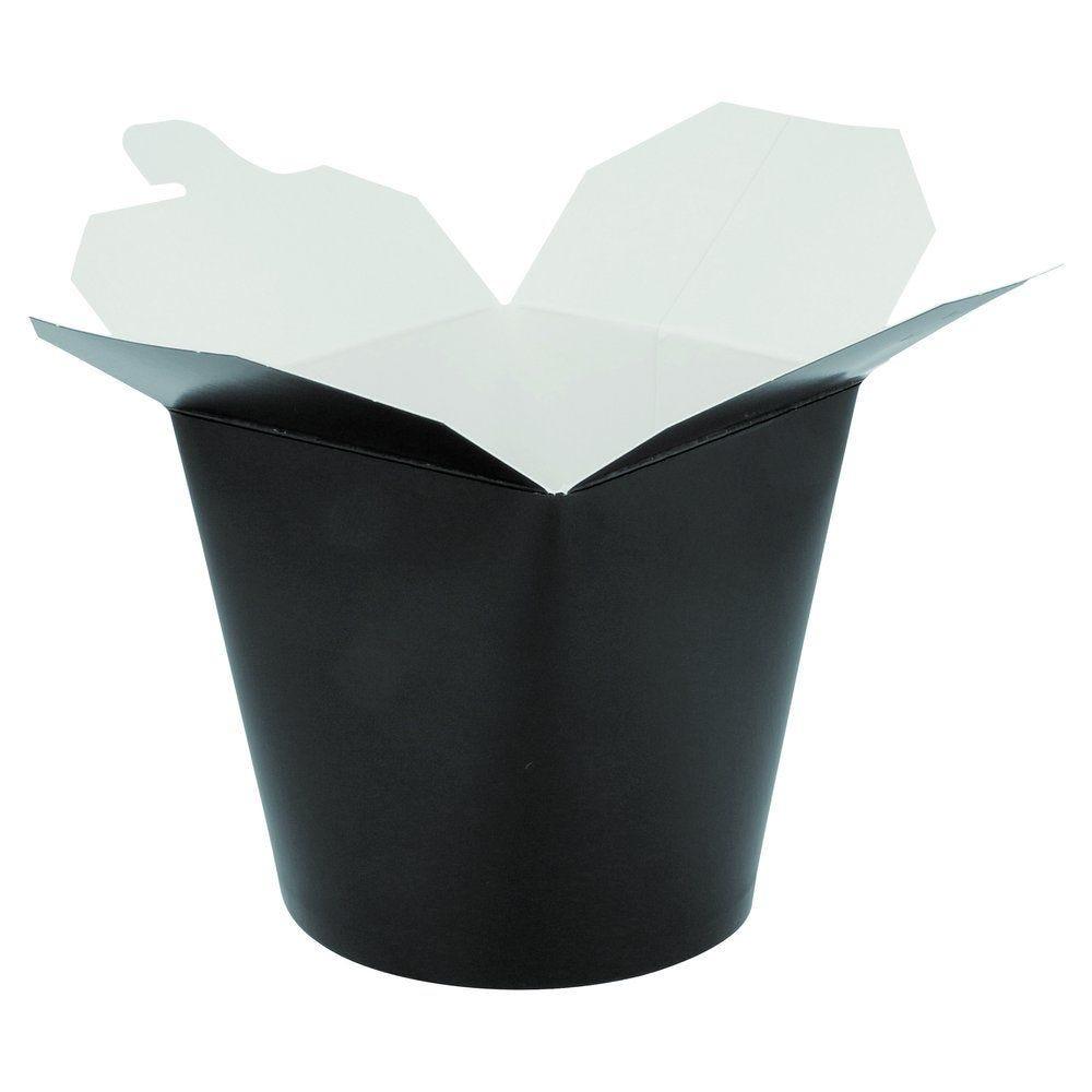 Pot à pâtes noir fermeture croisillon 780 ml par  50 (photo)