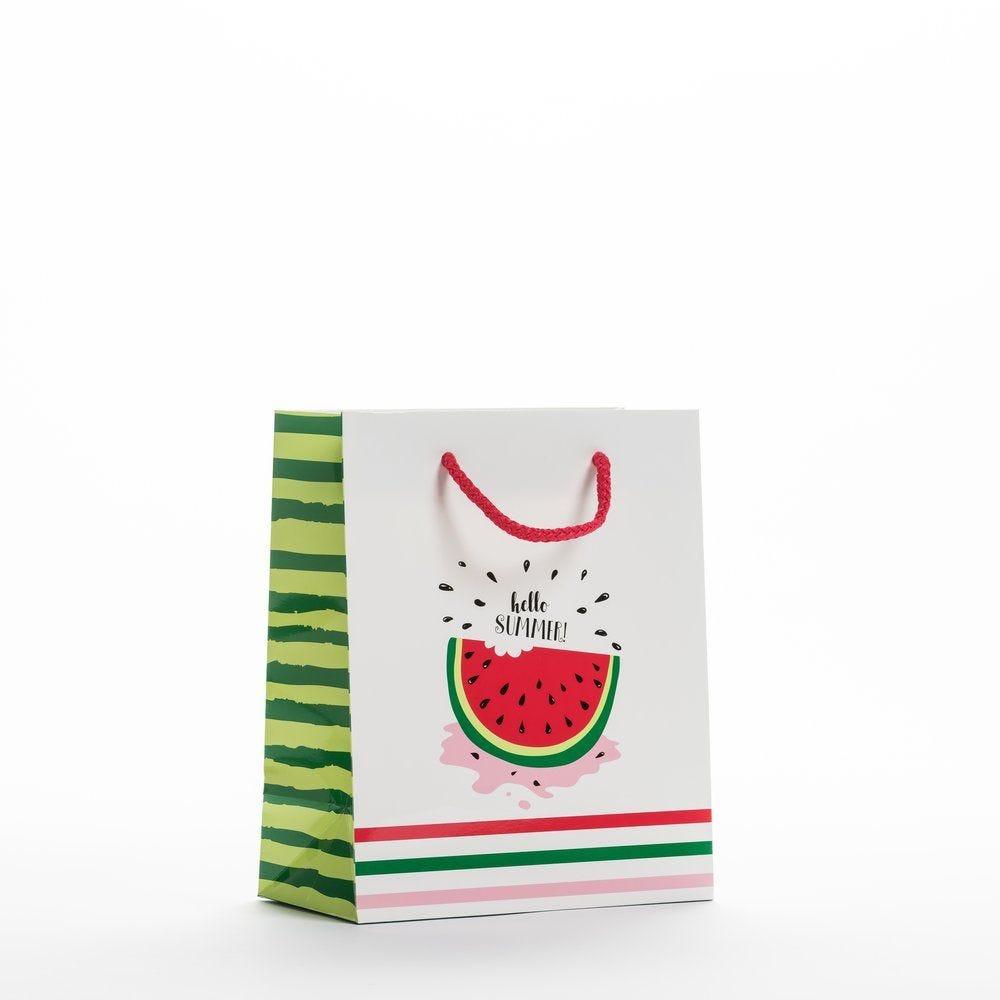 Sac luxe Watermelon 19x10x23cm - par 12 (photo)