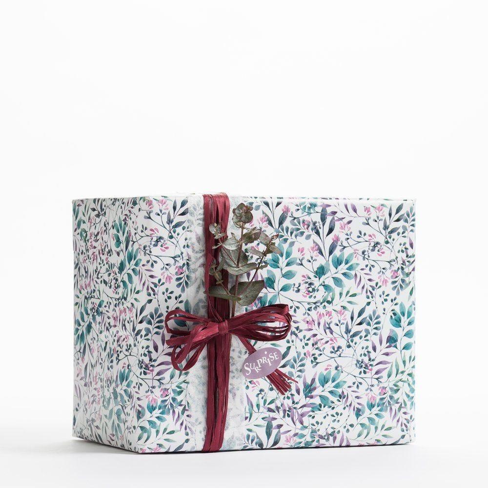 Papier cadeau floral 0,70 x 50 m (photo)
