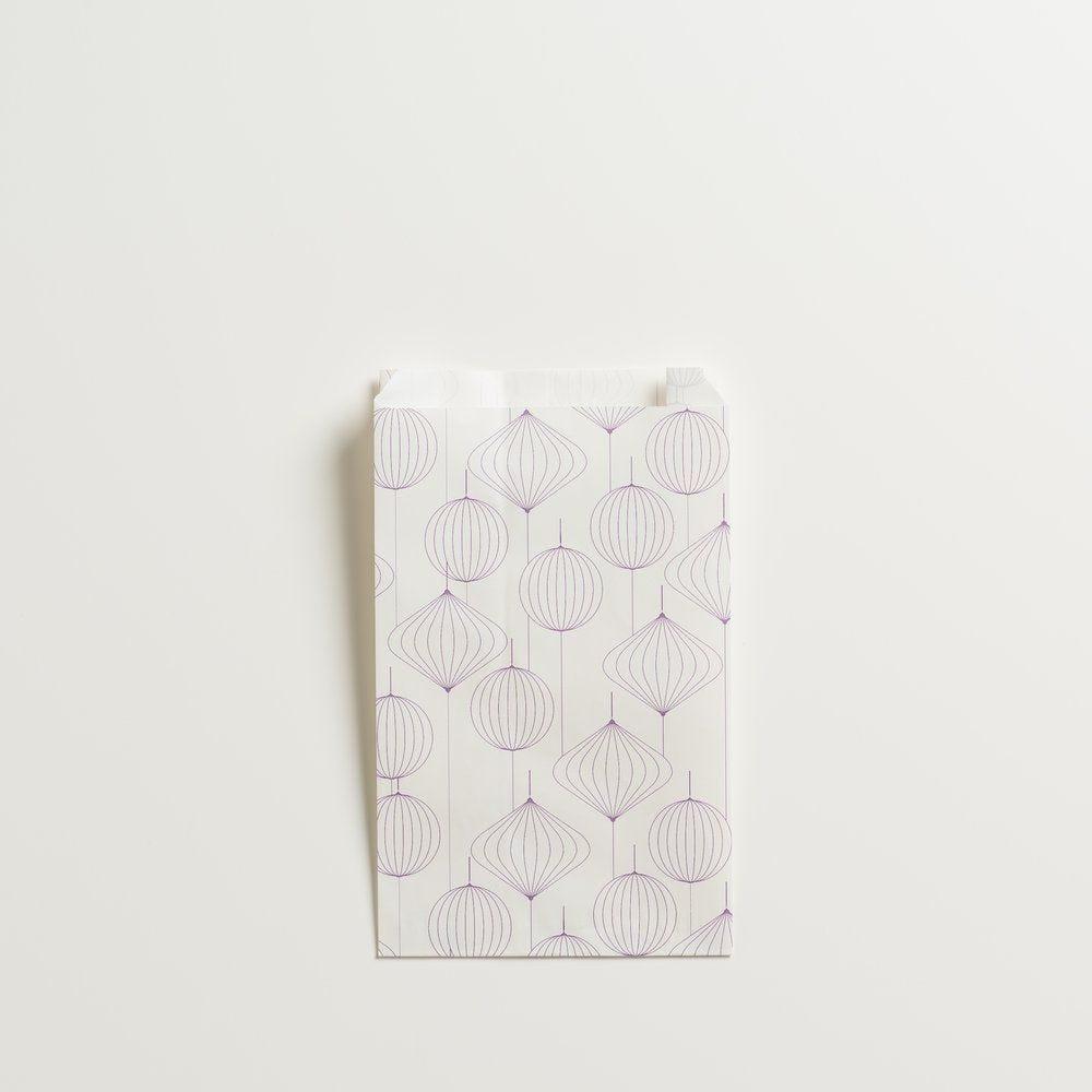 Pochette cadeau lanternes en 12 + 4,5x20cm - par 150