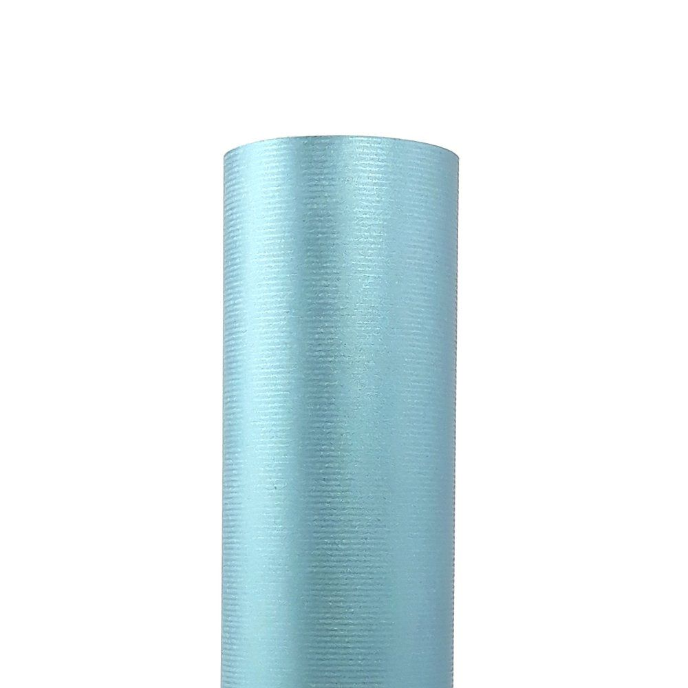Papier kraft bleu métal 0,70 x 100 m (photo)