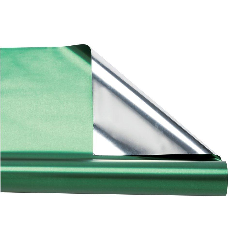 Film polypropylène métal vert sapin 0,70 x 10 m (photo)