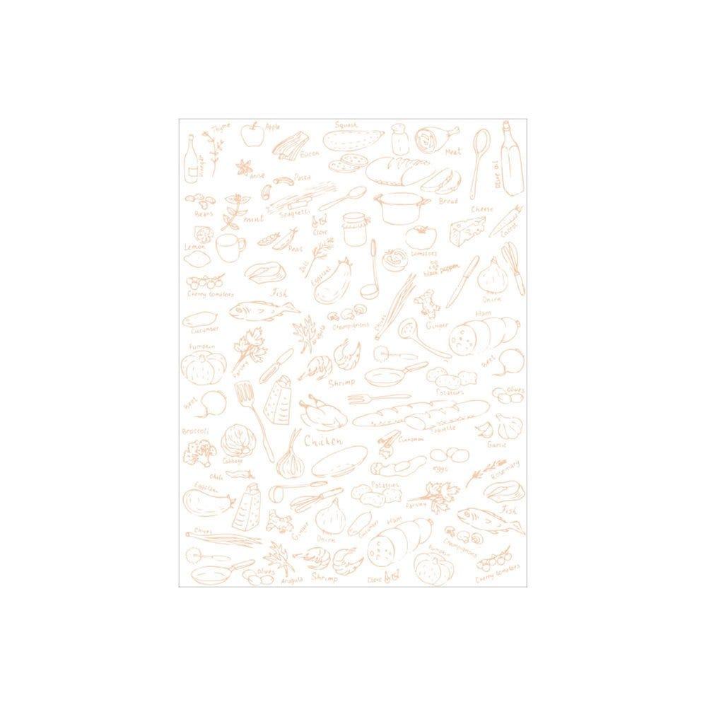 Papier ingraissable imprimé en feuilles 35x26cm - par 500