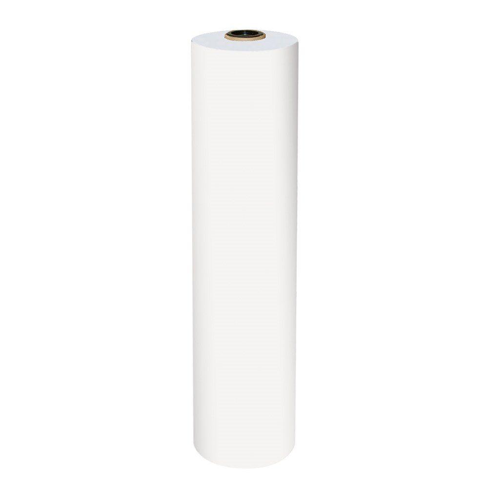 Bobine mousseline blanche 35g/m2 largeur 62cm - par 10 kg