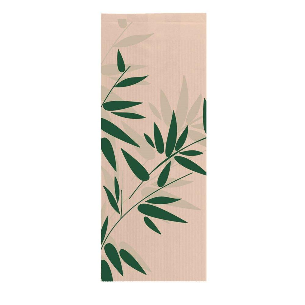 Sac pain papier Feel Green 14+7x35cm - par 500