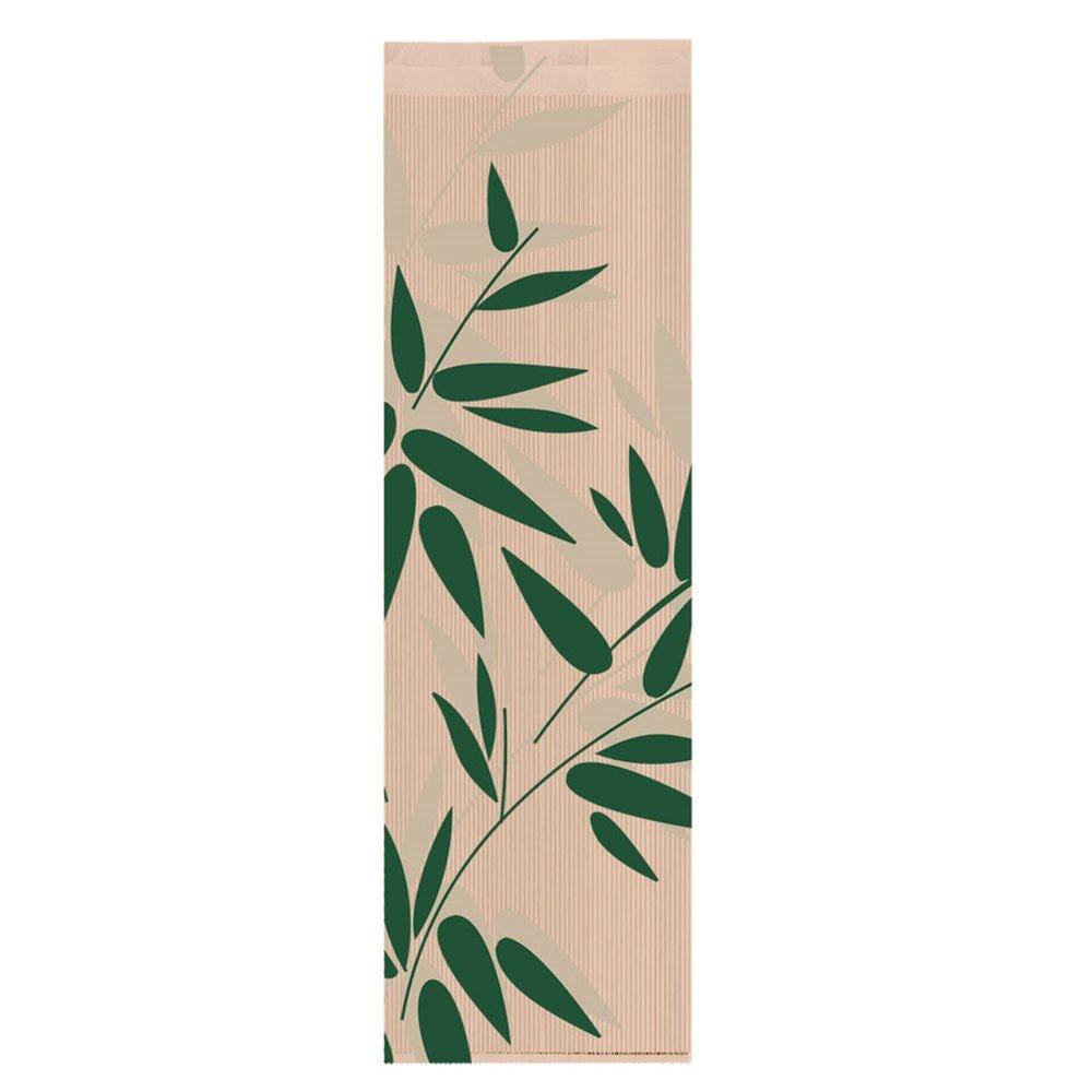 Sac pain papier Feel Green 14+9x46cm - par 500