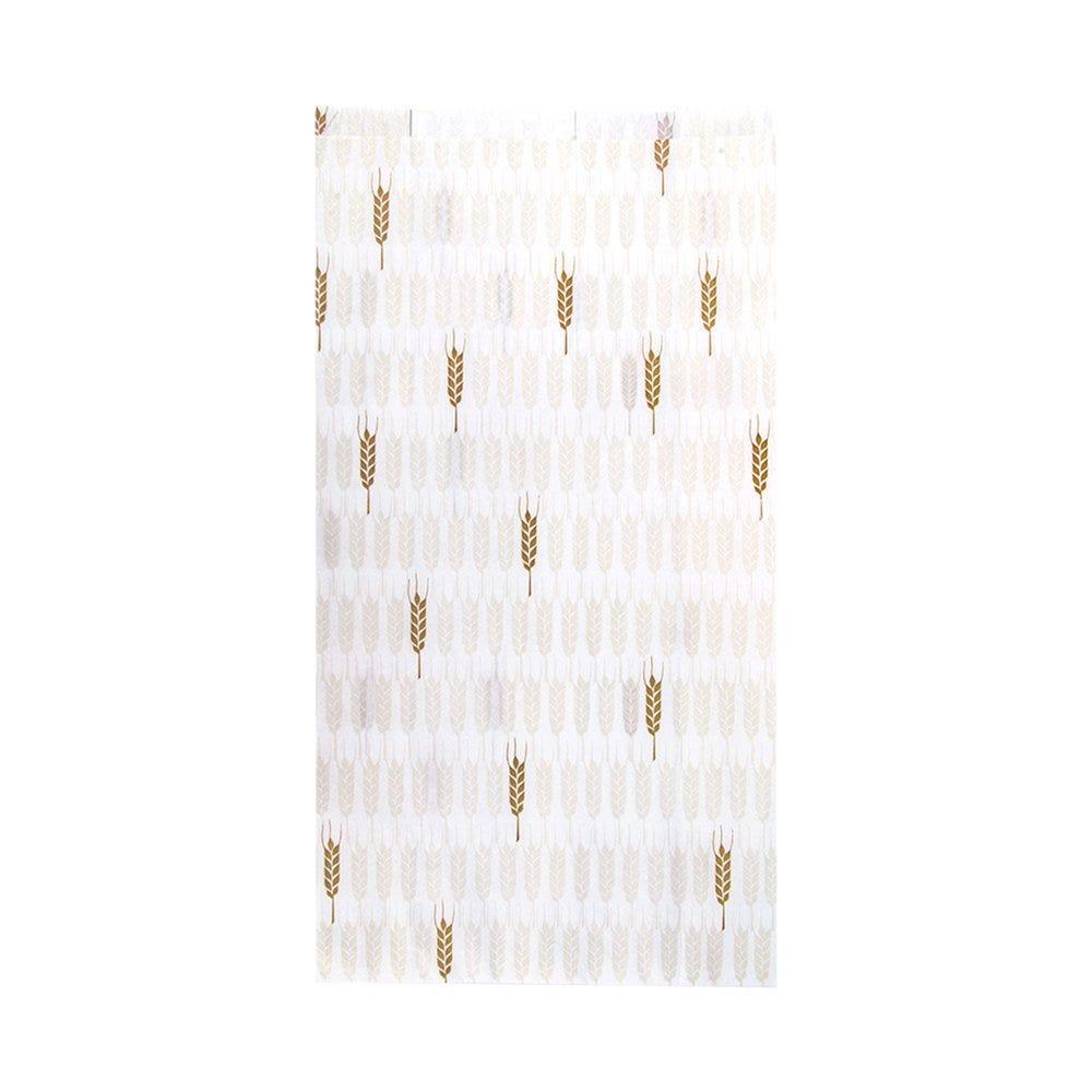 Sac pain papier blanc motif Ceres 19+8x35cm - par 250