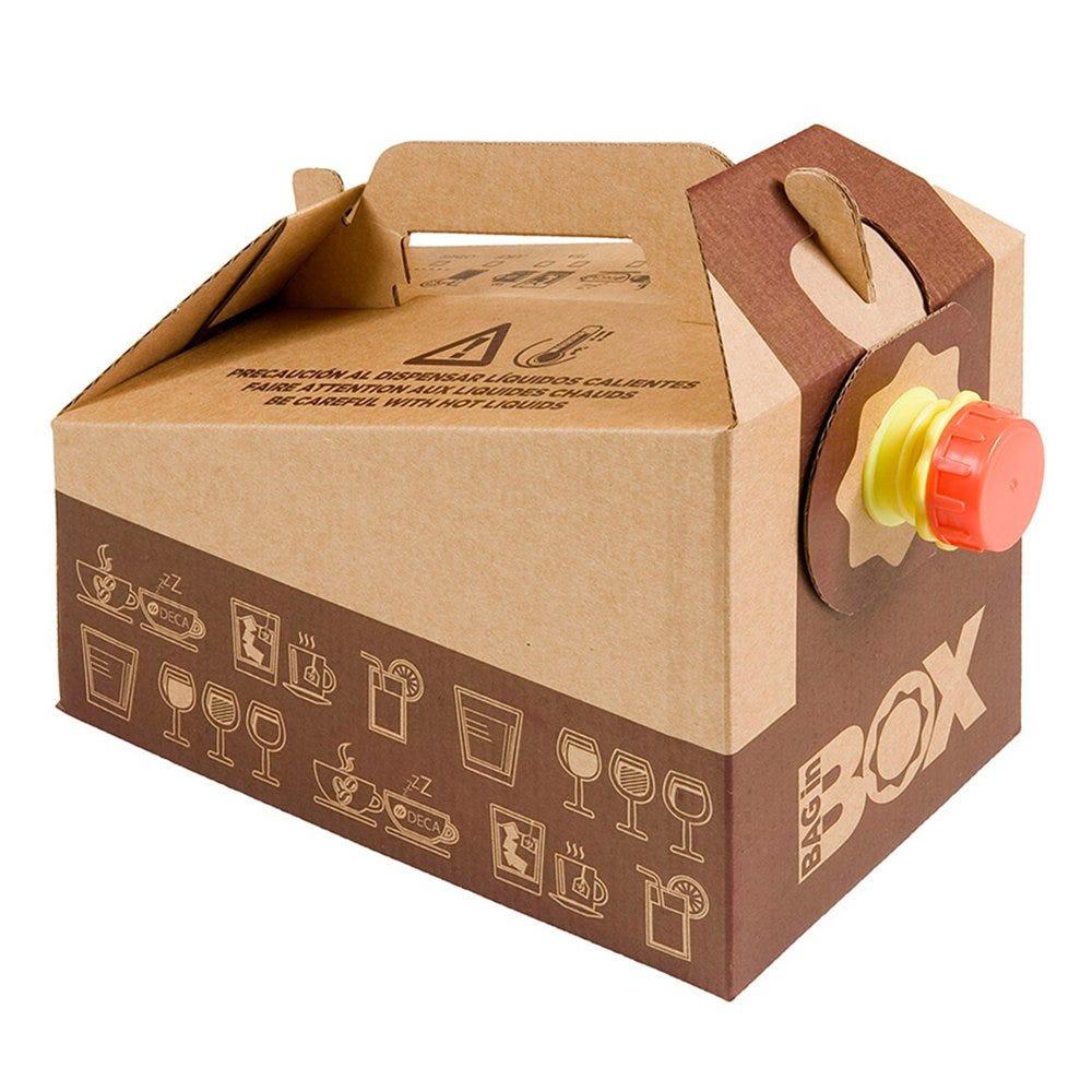 Bag in box 5 litres carton - par 25 (photo)