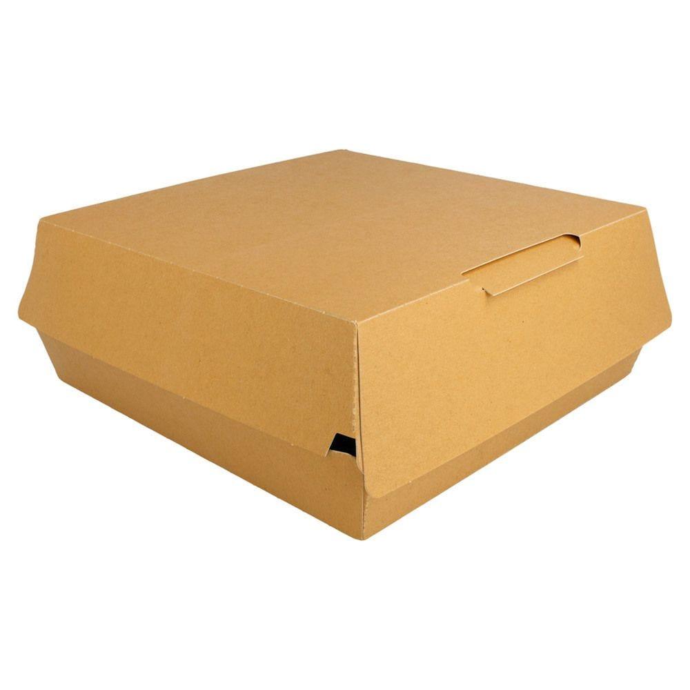 Boîte lunch carton Kraft 24x23,5x9cm - par 200